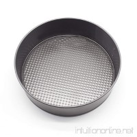 Naladoo Round Cake Tin Set Non Stick Spring Form Loose Base Baking Pan Tray 18cm  20cm  22cm  24cm - B079QQRDR6