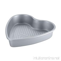 Cake Boss Professional Nonstick Bakeware 9-Inch Heart Cake Pan  Silver - B00FB9MXE6