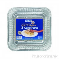 E-z Foil 93821 Square Cake Pan With Aluminum Foil (Pack of 12 X 3) - B000BQNZVE