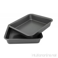 Hamilton Beach Set of 2 Nonstick Square Cake Pans- 04402 - B00MFWP7MC