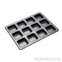 Masterclass 12-hole Non-stick Brownie Tin With Dividers  34 x 26cm - B003R7KZ6C