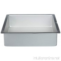 NY Cake Anodized Aluminum Square Cake Pans (10 Inch x 10 Inch x 3 Inch) - B00GSZLAQY