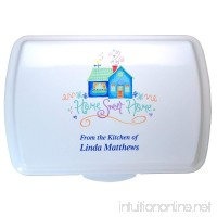 "Personalized 9x13"" Engraved Cake Pan and Colored Lid - Closing Gift - B075R8PW1R"