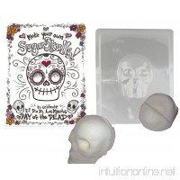 Make your Own Sugar Skull- Mold Makes Decorative Skull for Day of the Dead - B00NC6URV6