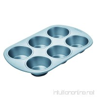 Chicago Metallic Betterbake Non-Stick 6-Cup Regular Muffin Pan - B003YKGQLU
