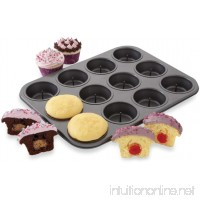 Chicago Metallic (X70167) Non-Stick 12 Cup Surprise Cupcake or Muffin Pan - B00570C0A6