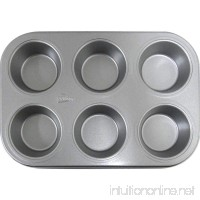 Patisse 6-Cups Nonstick Silver Top Muffin Tray  Silver Grey - B002J9HNAA
