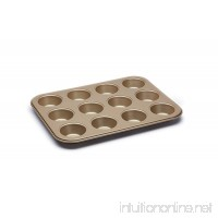 Paul Hollywood By Kitchencraft 12-hole Non-stick Baking Tin  31.5 x 24cm (12.5 - B01GOC6S5I