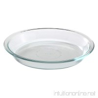 Pyrex Glass Bakeware Pie Plate 9 x 1.2 (Pack of 12) - B0172JY05C
