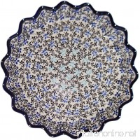 "Polish Pottery Pie Plate or Quiche Plate ""Eva's Collection"" Martina - B00KCZ9GYE"