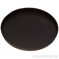 Paderno World Cuisine 12.5 Inch Fluted Non-Stick Tart Pan with Removable Bottom - B000VJWL1Q
