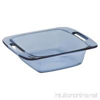 Pyrex 8 Inch Square Easy Grab Atlantic Blue - B01BS8SDJM