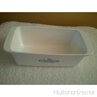 "Vintage Corning Ware "" Blue Cornflower"" Loaf Pan Baking Dish Collectible - B00FIUQ40M"