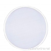 7 Different Size Aluminum Flat Mesh Pizza Screen Round Baking Tray Net Kitchen Tools Hot - B071RGBK34