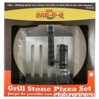 Mr. Bar-B-Q  06131X Grill Stone Pizza Set - B001BVVSJO