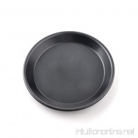 Pizza Baking Dish Non-Stick Microwave Crisper Pan Round Baking Pan Kitchen Baking Accessorie(9inch Shallow Dish 9inch) - B07G13QQ4W