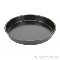 Pizza Pan 9 Inch NonStick Stainless Pizza Pan (Black) - B0716ZGLNJ