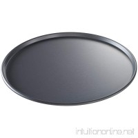 USA Pan Bakeware Aluminized Steel 14-Inch Thin Crust Hard Anodized Pizza Pan  Made in the USA - B0047N13KW