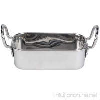 "American Metalcraft MRP53 17 oz. Mini Roasting Pan with Handles - 5 3/4"" x 3 3/4"" x 1 3/4"" - B008MIE1O8"