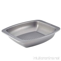 Circulon Nonstick Bakeware 16-1/2-Inch x 14-Inch Roaster with Self Rack  Gray - B00FGUXAGU