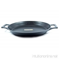 Uniware Top Quality Best Germany 3 Layer Non-stick Casting Aluminum Paella Pan Induction Compatible Bottom (14.2 Inch) - B01M0GUAY0