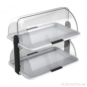 Cuisinox Double-Decker Countertop Bakery Display Case - B01N35420Z