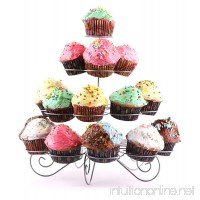 Francois et Mimi DCP0023 23-Cupcake Multi-Tiered Metal Dessert and Cupcake Stand - B00GCE25CO