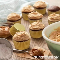 400 Gold Foil Cupcake Paper Baking Cups Metallic Muffin Liners Standard Size Cupcake Bakeware Supplies. - B079MHQWC1