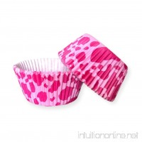 Bakell - 25 PC Set of Pink Cow Animal Print Cupcake Liners - Baking  Caking and Craft Tools from Bakell - B07DV7NVJ8