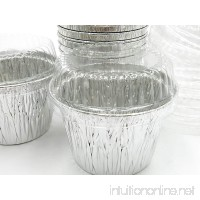 Disposable Aluminum 7 oz. Baking Cups/Cake Cups/Dessert Cups #1210P (50) - B015JM78GW