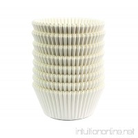 Eoonfirst Standard Size Baking Cups 200 Pcs White - B07B2Z9NG2
