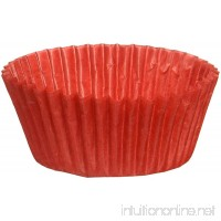 Glassine Baking Cups Standard 50 Count Red - B0049IC56G