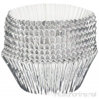 Oasis Supply Baking Cups  Jumbo  100-Count  Silver Foil - B00CDWXW4Y