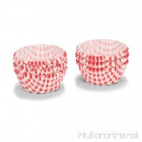 Patisse Paper Cupcake Cases Set  Red Gingham - B00DYXAGDG