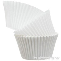 Regency Baking Cups for Cupcakes and Muffins  White Jumbo  25 count - B000HM61D6
