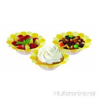 Wilton 415-0177 Blossoms Baking Cup  Yellow - B005CDKO74