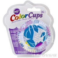 Wilton 415-2290 36 Count Cool Flower Color Baking Cups Standard - B00IE71I5M