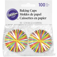 Wilton Color Wheel Mini Baking Cups  100 Count - B007ISQ3S0