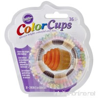Wilton Cupcake Color Cups Standard Baking Cups  36-Count - B00IE70OR0