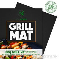 BBQ Grill Mats  Silicone Baking Mat   Baking pans and mats  100% Non-stick Chef Special Non Slip Silicone Grill pans | Works on Any BBQ Grill or As Pan Liner - B018KRUKS6