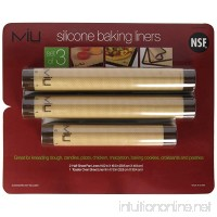 MIU France Silicone Non-stick Baking Liners  3 Ct - B00O67IJCE
