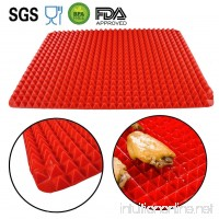 "Silicone Baking Mat Uopasd Non-Stick Healthy Cooking Mat 15.7"" x11.2"" - B01MYWRGYM"