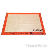 "Silpat Non-Stick Silicone Jelly Roll Pan Baking Mat  11"" x 17"" - B00032S0HK"