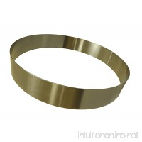 Allied Metal CRS12238 Stainless Steel Cake Ring with Smooth Deburred Edge 12 by 2-3/8-Inch - B00APFL0T0