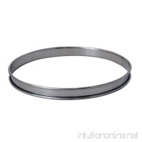 De Buyer Professional Food Service 24 cm Stainless Steel Perforated Circle Tart Baking Ring - B00VNQ5JZG