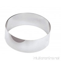 Paderno World Cuisine 4 Inch by 1 3/4 Inch Mousse Pastry Ring - B000RWL6YU