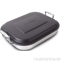 All-Clad 59946 Stainless Steel Lasagna Pan with Lid Specialty Cookware 14.5 by 11.75 by 2.5-Inch Silver - B004XNOKG0