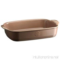 Emile Henry 969652 France Ovenware Ultime Rectangular Baking Dish  14.2 x 9.1  Oak - B06WRW8W1Z