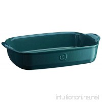 Emile Henry 979652 France Ovenware Ultime Rectangular Baking Dish 14.2 x 9.1 Blue - B06W5961NN