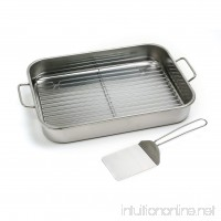 Norpro 12 by 16 Inch Stainless Steel Roast Lasagna Pan - B000SSTOF6